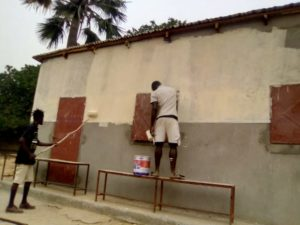pintando school